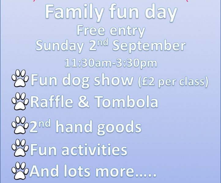 St Francis home for animals Poster This ONE 722x600 - St Francis Family Fun Day - 2nd September