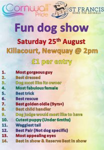 Emma use this one Cornwall pride 2018 207x300 - Cornwall Pride Dog Show Saturday 25th August