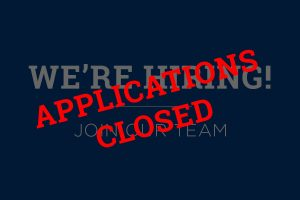 Join Our Team V2 300x200 - Applications closed - Head of Fundraising